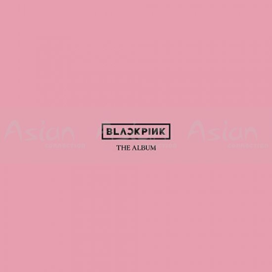 BLACKPINK - THE ALBUM CD - Asian Connection