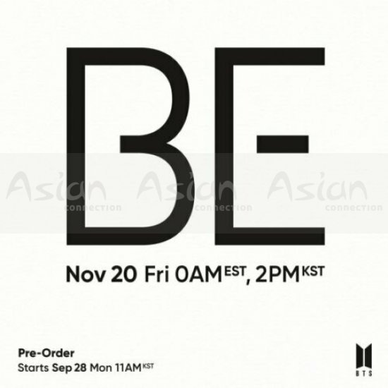 BTS - BE [Deluxe Limited Edition] - Asian Connection