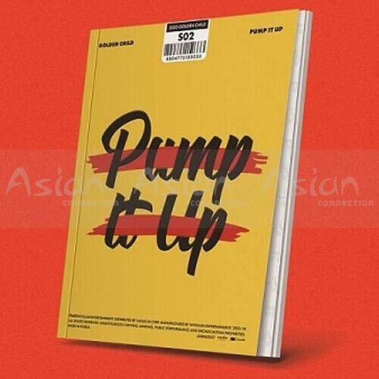 GOLDEN CHILD - PUMP IT UP CD - Asian Connection