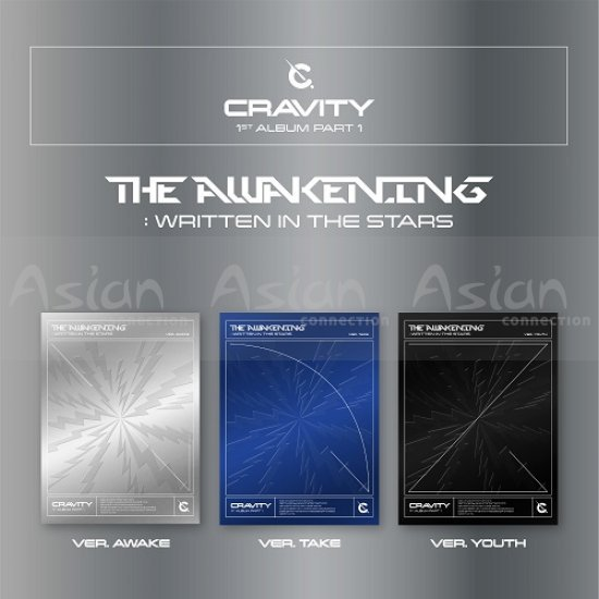 CRAVITY - The Awakening :Written in the Stars 3CDs SET - Asian Connection