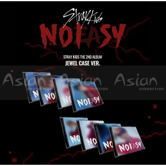 STRAY KIDS - NOEASY [Jewel Case ver.] 8CDs SET - Asian Connection