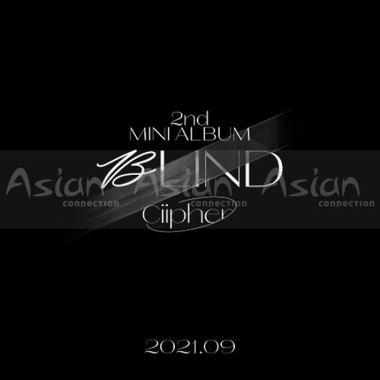 CIIPHER - BLIND CD - Asian Connection