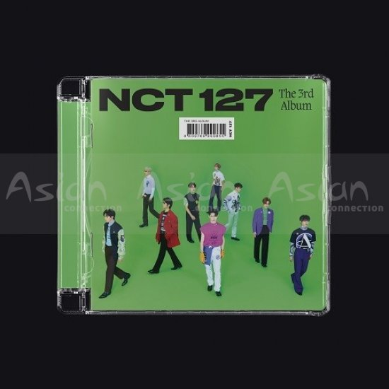 NCT 127 - STICKER [Jewel Case Ver.] CD - Asian Connection