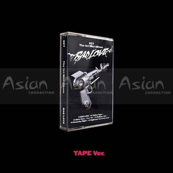 KEY (SHINee) - BAD LOVE [TAPE Ver] CD - Asian Connection