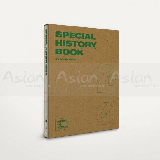 SF9 - SPECIAL HISTORY BOOK (Special Album) CD - Asian Connection