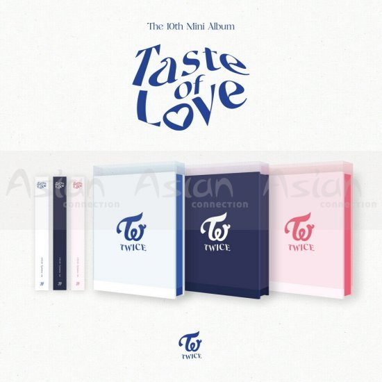 TWICE - Taste of Love 3CDs SET - Asian Connection
