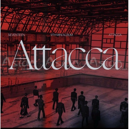 SEVENTEEN - ATTACCA CD - Asian Connection