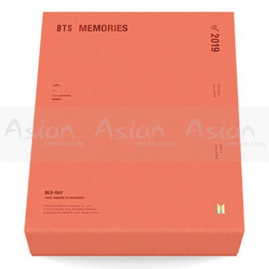 BTS MEMORIES OF 2019 BLU-RAY - Asian Connection