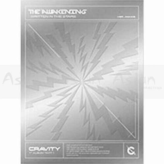 CRAVITY - The Awakening :Written in the Stars CD - Asian Connection