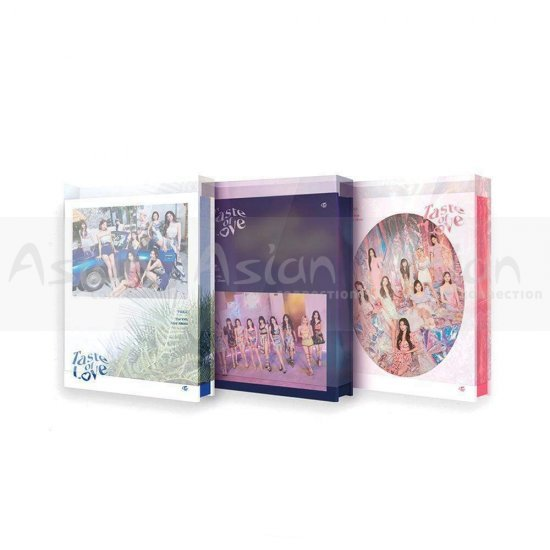 TWICE - Taste of Love CD - Asian Connection