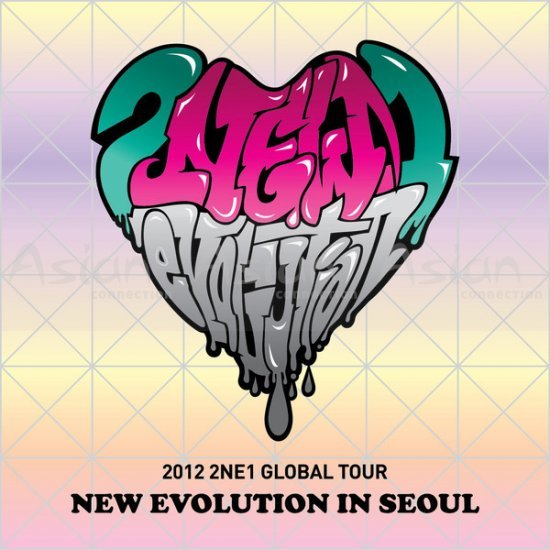 2NE1 - New Evolution in Seoul (2012 Global Tour Live) CD - Asian Connection