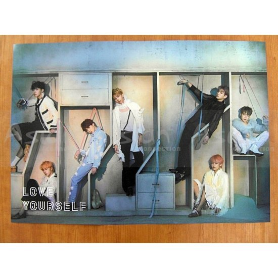 BTS - LOVE YOURSELF 結 [Answer] [E ver.] CD - Asian Connection