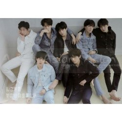 BTS  - LOVE YOURSELF 轉 Tear [R ver] OFFICIAL POSTER
