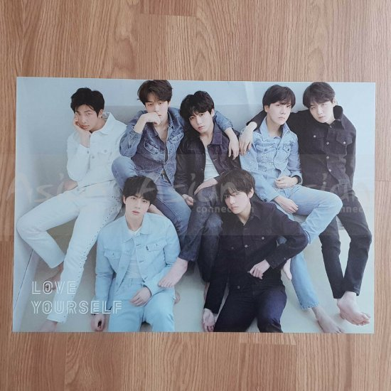BTS  - LOVE YOURSELF 轉 Tear [R ver] OFFICIAL POSTER - Asian Connection