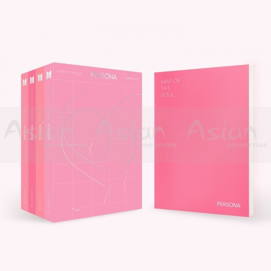 BTS - MAP OF THE SOUL : PERSONA CD - Asian Connection
