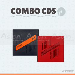 Combo CDs - ATEEZ [Treasure EP.1: All To Zero + Treasure EP.2 : Zero To One]