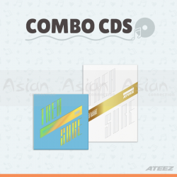 Combo CDs - ATEEZ [Treasure EP.3: One To All + Treasure EP.FIN: All To Action]