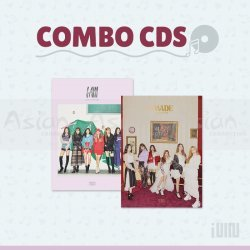 Combo CDs - (G)I-DLE [I Made + I AM]