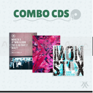 Combo CDs - Monsta X [BEAUTIFUL + SHINE FOREVER + The Clan 2.5 Part.2]