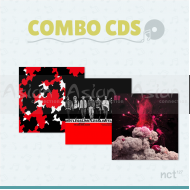 Combo CDs - NCT 127 [LIMITLESS + CHERRY BOMB + #127]