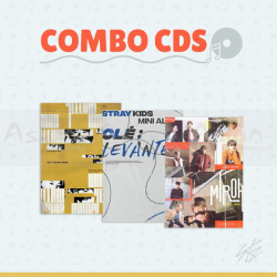 Combo CDs - STRAY KIDS [CLÉ: Miroh + Yellow Wood + Levanter]