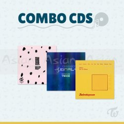 Combo CDs - TWICE [TWICEcoaster Lane 2 + Signal + Twicetagram]