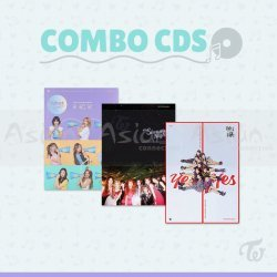 Combo CDs - TWICE [What Is Love? + Summer Nights + Yes or Yes]