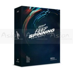 GOT7 - 2019 WORLD TOUR 'KEEP SPINNING' IN SEOUL BLU-RAY