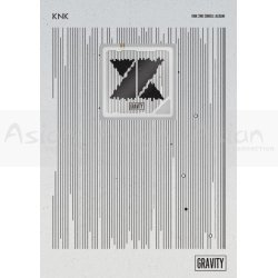 KNK - GRAVITY (2nd Single) [KIHNO Edition]