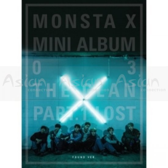 MONSTA X [3rd Mini Album] - The Clan 2.5 Part.1 Lost (Found Ver.) CD - Asian Connection