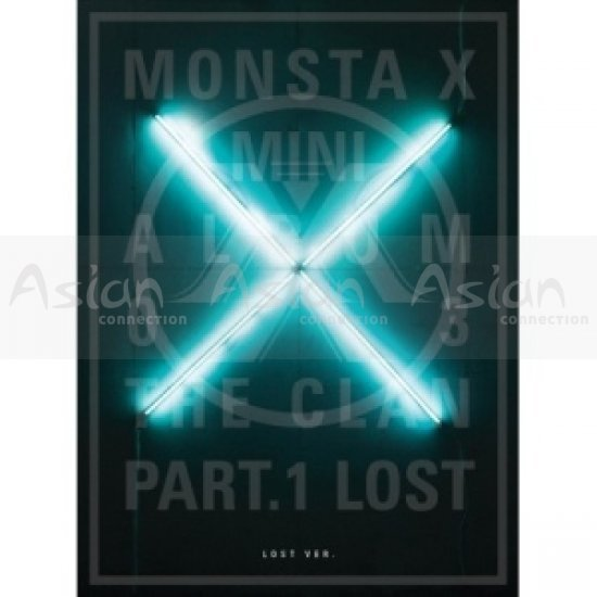MONSTA X [3rd Mini Album] - The Clan 2.5 Part.1 Lost (Lost Ver.) CD - Asian Connection