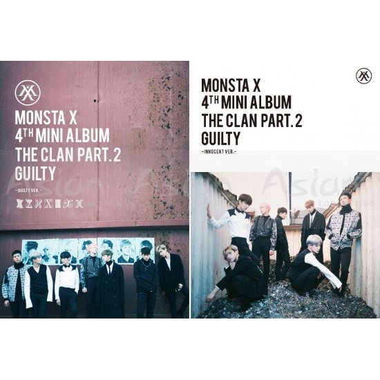 Monsta X - The Clan 2.5 Part.2 Guilty CD - Asian Connection