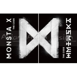 MONSTA X - The Code [DE: CODE + PROTOCOL TERMINAL] CD