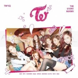 TWICE  - The 1st Mini Album - The Story Begins CD