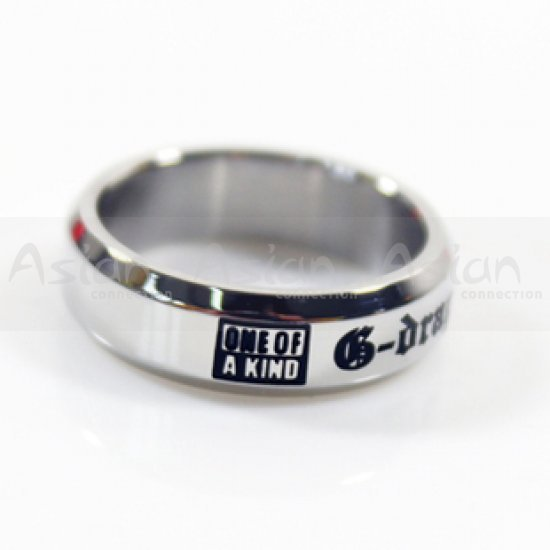Anel BIGBANG - G-Dragon   One Of A Kind - Asian Connection