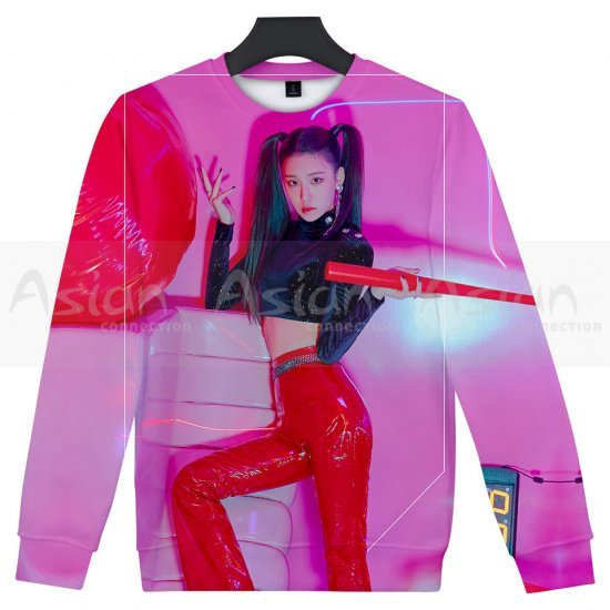 Blusa Estampada ITZY - Membros - Asian Connection