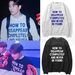 Blusa SF9 | Seventeen - How to Disappear