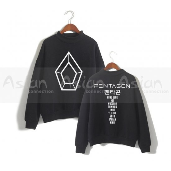 Blusa Ulzzang Pentagon - Asian Connection