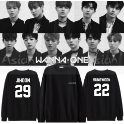 Blusa WANNA ONE - Membros