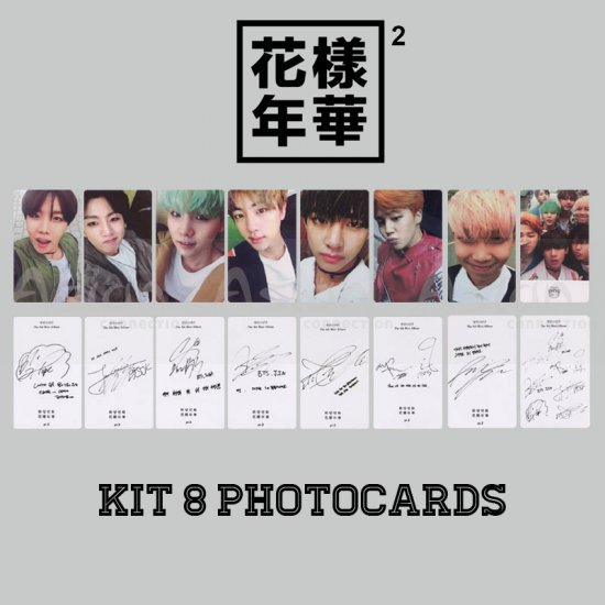 BTS Photocards - In The Mood For Love Pt.2 - Asian Connection