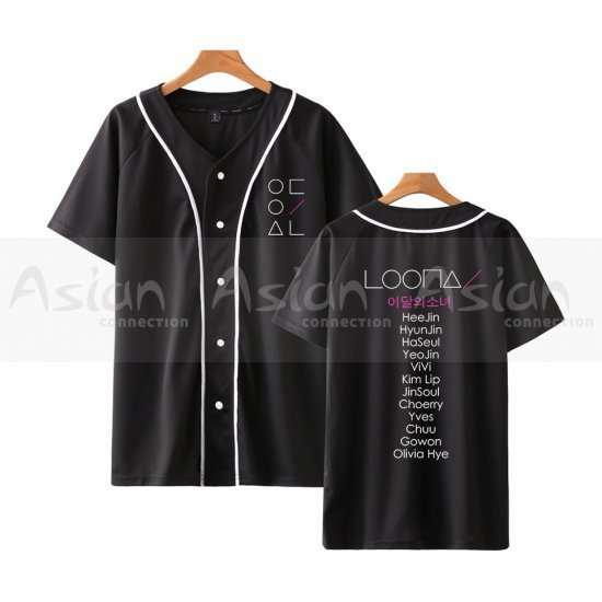 Camisa Jersey - LOONA - Asian Connection
