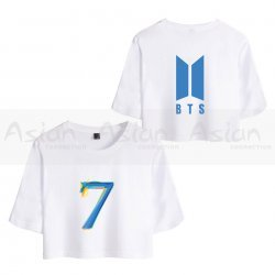 Camiseta Cropped BTS - MAP OF THE SOUL 7