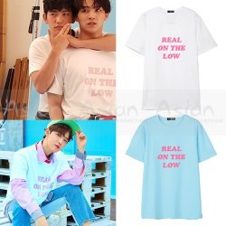 Camiseta GOT7 | Wanna One - Real on the low