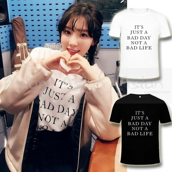 Camiseta Taeyeon - Bad Day - Asian Connection