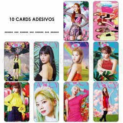 Cards Adesivos - TWICE Fancy You