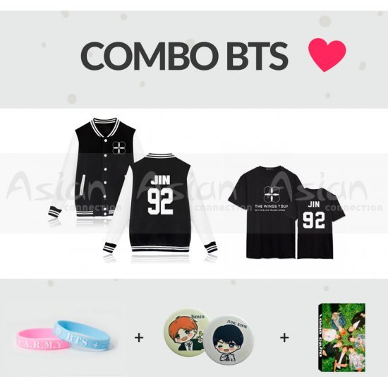 COMBO 7 Itens BTS - Asian Connection