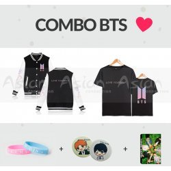 COMBO 7 Itens BTS - Love Yourself